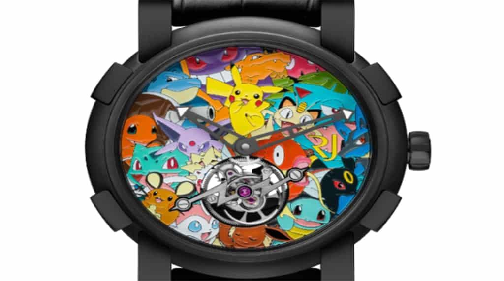 Conoce el reloj de Pokémon más caro del mundo