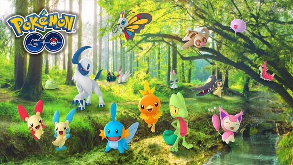 pokemon go 3 generacion hoenn nikode
