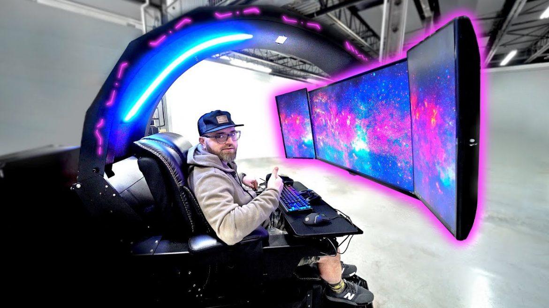 """Unbox Therapy muestra un """"Set Up"""" Gaming valorado en más de 30.000 dólares"""
