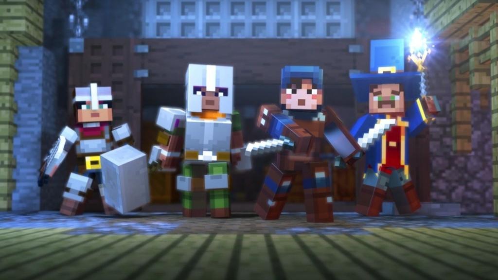 Anunciado Minecraft: Dungeons para PC