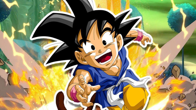 Kid Goku GT se presenta de forma oficial para Dragon Ball Fighter Z